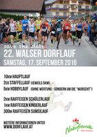 Walser Dorflauf 2016